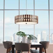 kichler dining room lighting armstrong. Modern Lighting |YLighting Cirus 5 Light Semi Flush Pendant From Kichler Dining Room Armstrong