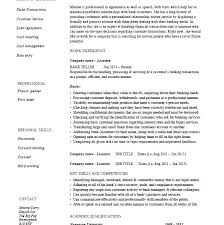Sample Resume Bank Teller Best Of Bank Teller Resume Examples Moncleroutlet