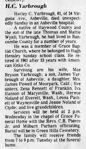 Harley Carl Yarbrough Obituary - Newspapers.com