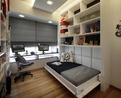 small bedroom office ideas. Small Bedroom Home Office Ideas Images Bed On Astonishing Design Idea G