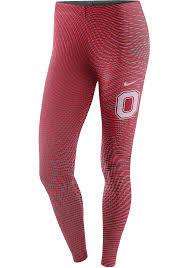 Nike Ohio State Buckeyes Womens Red Legasee Pants 125100899