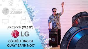 Loa Karaoke LG OL55D 600W - giá tốt, chính hãng, có trả góp 0%