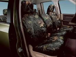 dodge ram 1500 rear mossy oak seat covers