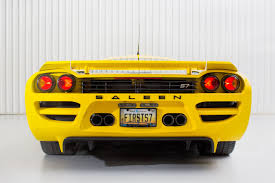 The Pure Automotive Muscle of the Saleen S7 - WSJ