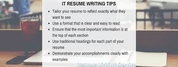 Most Effective IT Resume Writing Services Interesting It Resume Writing Services