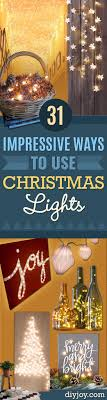 Image Garland Cool Ways To Use Christmas Lights Best Easy Diy Ideas For String Lights For Room Diy Joy 31 Impressive Ways To Use Your Christmas Lights