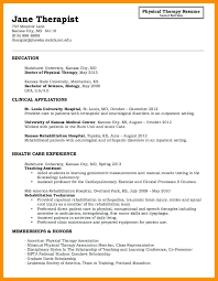 Respiratory Therapist Student Resume Entry Level Respiratory Therapist Resume Samples Therapy Examples