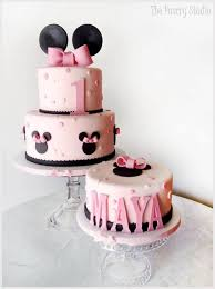 First Birthday Cakes And Ideas For Girls Cake Cake Cake Minnie