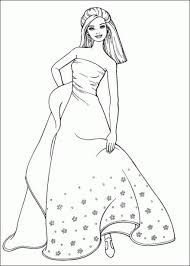 Small Picture 9 best barbie coloring pages images on Pinterest Barbie coloring