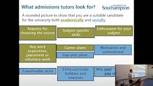 Top Tips On Writing Your Personal Statement University Of
