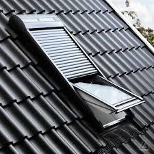 Velux Solar Rollladen Ssl 065 0000s Aluminium Dunkelgrau Günstig