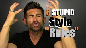6 STUPID Style Rules YOU Need To BREAK YouTube