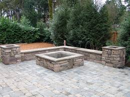 Seating Wall Blocks Best 20 Square Fire Pit Ideas On Pinterest Modern Fire Pit