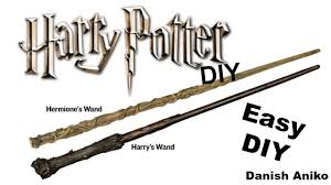 diy harry potter wands easy and fast last minute costume diy or cosplay