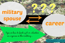 Finding A Career As A Military Spouse See Mox Run