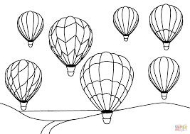 hot air balloon coloring page. Exellent Page Click The Hot Air Balloons Coloring Pages To View Printable Version Or  Color It Online Compatible With IPad And Android Tablets Throughout Balloon Coloring Page I