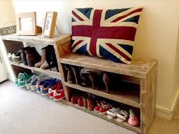 diy pallet shoe rack. Pallet Shoe Rack. Rack Ideas Diy