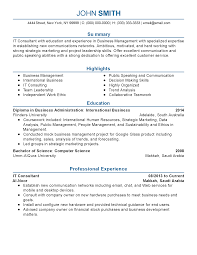 Resume Technical Support Resume Samples