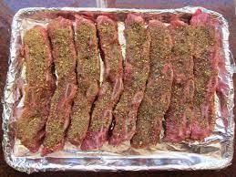 oven barbecued flanken ribs tender