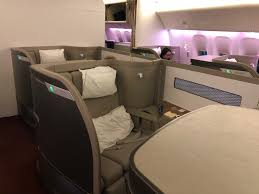 Cathay Pacific Flight 888 Seating Chart Cathay Pacific 777 First Class Review Hkg To Sfo Detailed