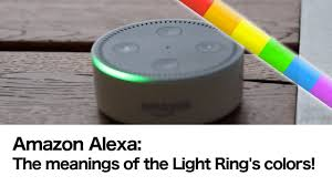 Echo Dot Disable Lights Alexa Meaning Of The Echo Light Ring Colors