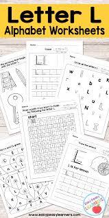 Free Printable Letter L Worksheets Alphabet Worksheets Series