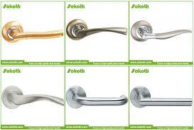 cof zinc door handle main door handle