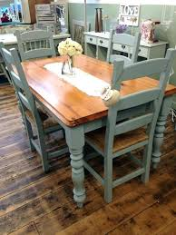painting dining room table without sanding painted kitchen and chairs tables gorgeous chair set transformed by