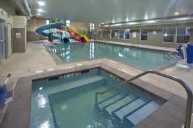 indoor pool and hot tub with a slide. Beautiful Indoor Red Lion Inn U0026 Suites Federal Way New Indoor Pool And Hot Tub With Slides Inside And With A Slide T