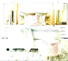 pink white and gold bedroom ideas rose bedding