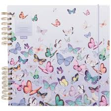 Whsmith Amaya Butterflies Scrapbook Album
