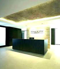Front Desk Designs Office Reception Ideas Receptionist Modern Classy Office Front Desk Design