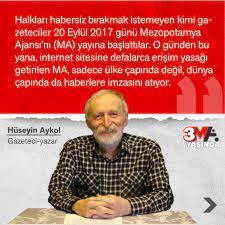 """Mezopotamya Ajansı on Twitter: """"Gazeteci @AykolHuseyin: """"Mezopotamya Ajansı,  20 Eylül 2020 günü itibariyle 3'üncü yaşını doldurdu. Bu vesileyle Kürt  halkının haber ajansları kurma tarihine kısaca değinmek isterim...""""  #AjansaMezopotamya3SalîYe ..."""