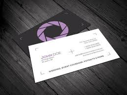 Photography Business Card Template Psd File Free Download