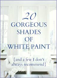 white dove paint20 Great Shades of White Paint and Some To Avoid