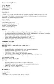 [ Professional New Grad Resume Sample Graduate Nurse Examples Word Pdf ] -  Best Free Home Design Idea & Inspiration