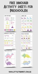 Vocabulary Chart Pdf Dinosaurs Activities For Preschoolers Seen Few Versions Free