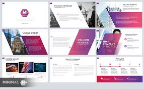 Free Business Templates For Powerpoint Minimal Free Business Powerpoint Template Just Free Slides