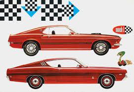1969 Ford Mustang Mach I & Torino Cobra Jet 428 Fastback - a photo ...