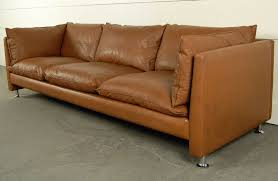 mid century modern leather couch. Image Of: Mid Century Modern Leather Sofa Vintage Couch N