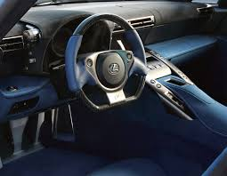 lexus lfa blue interior. lexus lfa with blue alcantara interior lfa enthusiast