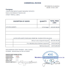 Sample Invoice Letters Commercial Document Discrepancies Commercial Invoice Discrepancy