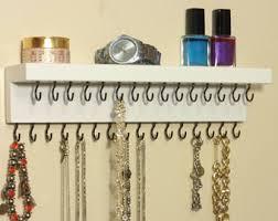 Jewelry Organizer - Necklace Hanger - Jewelry Holder - Jewelry Rack - A  Shelf - 31