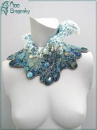 """""""Tenth <b>Wave</b>"""" - Another fabulous <b>necklace</b> designed by Ann ..."""