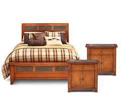 aspen sleigh bedroom set