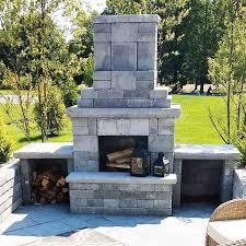 mini verona outdoor fireplace
