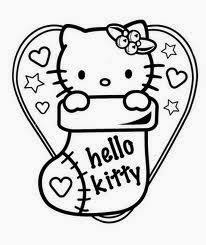 Small Picture 6 Beauty Christmas Hello Kitty Coloring Pages