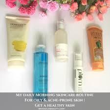 morning skincare routine for oily skin morning skincare routine for acne e skin