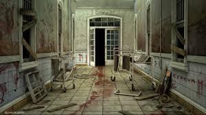 Dark Creepy Horror Blood Hospital Abandoned Haunted Wallpaper