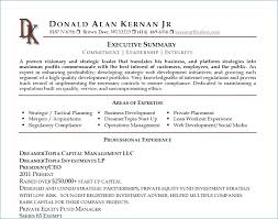 resume simple example example of executive summary executive summary for resume simple how